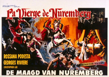 The Virgin of Nuremberg Poster 1