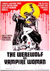 Werewolf Shadow Poster 1