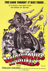 Werewolves on Wheels Poster 1