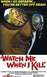 Watch Me When I Kill Poster 1