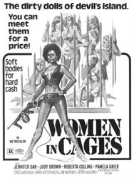 Women in Cages Poster 1