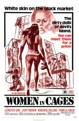Women in Cages Poster 2