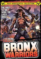 1990: The Bronx Warriors Video Cover 1