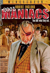 2001 Maniacs Video Cover 2