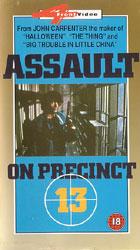 Assault On Precinct 13 Video Cover 2