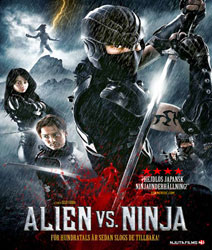 Alien vs. Ninja Video Cover 1