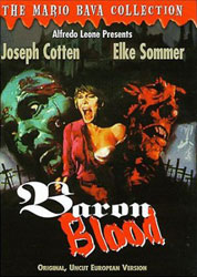 Baron Blood Video Cover