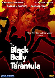 The Black Belly of the Tarantula Video Cover