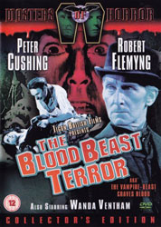 The Blood Beast Terror Video Cover 3