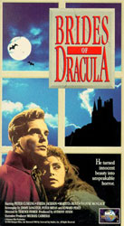The Brides of Dracula Video Cover