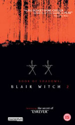 Blair Witch 2: Book of Shadows Video Cover 2