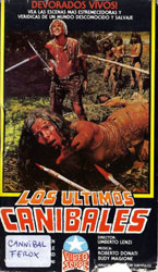 Cannibal Ferox Video Cover 3