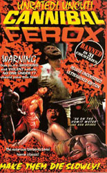 Cannibal Ferox Video Cover 4