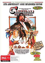 Cannibal! The Musical Video Cover 1