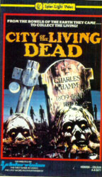 City Of The Living Dead Video Cover 2