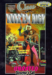Class of Nuke 'Em High Video Cover 2