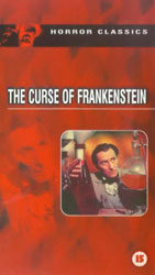The Curse Of Frankenstein Video Cover 2