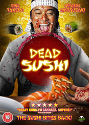 Dead Sushi Video Cover 2