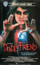 Deadly Friend Video Cover 3