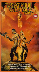 Deathstalker II: Duel of the Titans Video Cover