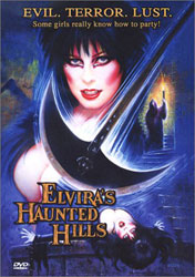 Elvira's Haunted Hills Video Cover