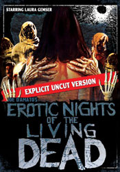 Erotic Nights of the Living Dead Video Cover