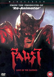Faust: Love Of The Damned Video Cover