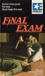 Final Exam Video Cover 4