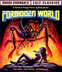 Forbidden World Video Cover 1