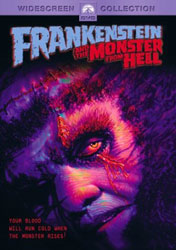 Frankenstein And The Monster From Hell Video Cover 1