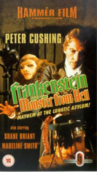 Frankenstein And The Monster From Hell Video Cover 3