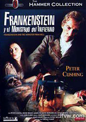 Frankenstein And The Monster From Hell Video Cover 4