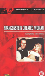 Frankenstein Created Woman Video Cover 2