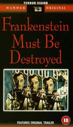Frankenstein Must Be Destroyed Video Cover 3