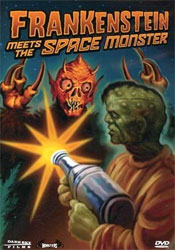 Frankenstein Meets the Spacemonster Video Cover 1