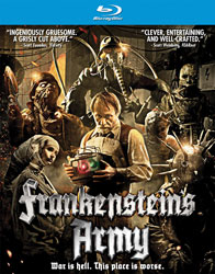 Frankenstein's Army Video Cover 2