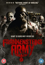 Frankenstein's Army Video Cover 3