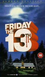 Friday the 13th Video Cover 1