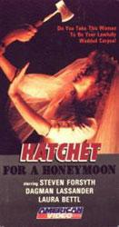 Hatchet for the Honeymoon Video Cover 5