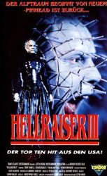 Hellraiser III: Hell on Earth Video Cover 2