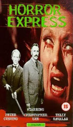 Horror Express Video Cover 2