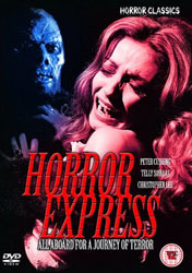 Horror Express Video Cover 5