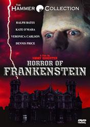The Horror Of Frankenstein Video Cover 1