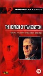 The Horror Of Frankenstein Video Cover 2