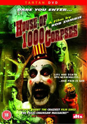 House Of 1000 Corpses Video Cover