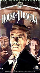 House of Dracula Video Cover