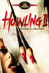 Howling II: Your Sister Is a Werewolf Video Cover