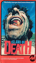 Island Of Death Video Cover 1