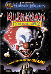 Killer Klowns From Outer Space Video Cover