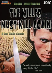 The Killer Must Kill Again Video Cover